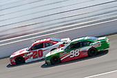 #20: Christopher Bell, Joe Gibbs Racing, Toyota Camry Rheem, #98: Kevin Harvick, Biagi-DenBeste Racing, Ford Mustang Hunt Brothers Pizza