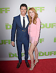 Bella Thorne and Robbie Amell  attends The CBS Films Los Angeles fan screening of THE DUFF held at The TCL Chinese 6 Theater  in Hollywood, California on February 12,2015                                                                               © 2015 Hollywood Press Agency