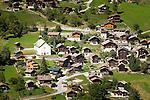 Switzerland, Canton Valais: Saint-Jean at Val d'Anniviers | Schweiz, Kanton Wallis: Saint-Jean im Val d'Anniviers (Eifischtal)