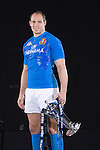 Sergio Parisse (Italy) at the official launch of the RBS Six Nations rugby tournament at the Hurlingham Club in London..