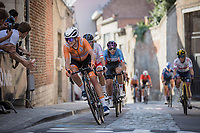 Annemiek Van Vleuten (NED/Movistar)<br /> <br /> Women Elite – Road Race (WC)<br /> Race from Antwerp to Leuven (157.7km)<br /> <br /> ©kramon