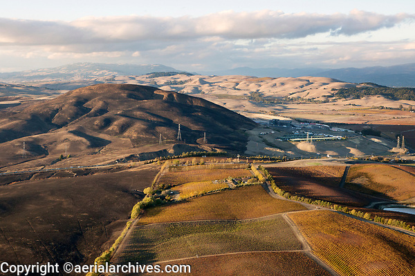 Highway Thirty-Seven Winery, Sonoma, CA and the Sonoma Raceway at the Highway 37 wildfire, Sonoma County, Wildfires Northern California, 2017