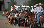 Images from the Minden Ranch Rodeo at the NV150 Fair at Fuji Park, in Carson City, Nev., on Saturday, Aug. 2, 2014.<br /> Photo by Cathleen Allison