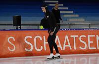 SCHAATSEN: HEERENVEEN: 26-09-2020, KNSB Trainingswedstrijd, Jutta Leerdam, ©foto Martin de Jong