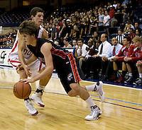 March 7 2009:  USD Jenny Craig Pavilion, San Diego, CA, USA.  La Jolla High School beats Cathederal Catholic High School in the Boys CIF Division III 2009 Season Final.