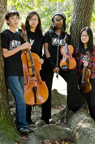 Face the Music, Kaufman Music Center, Pannonia Quartet