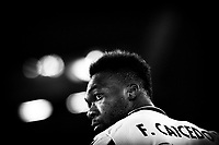 Felipe Corozo Caicedo of SS Lazio reacts during the Champions League Group Stage F day 1 football match between SS Lazio and Borussia Dortmund at Olimpic stadium in Rome (Italy), October, 20th, 2020. Photo Andrea Staccioli / Insidefoto