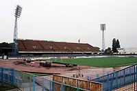 General view of NK Zagreb Football Ground, Stadion Kranjceviceva, Zagreb, Croatia