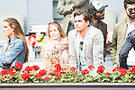 Patricia Montero and Alex Adrover during Mutua Madrid Open Tennis 2016 in Madrid, May 07, 2016. (ALTERPHOTOS/BorjaB.Hojas)