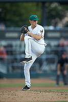 Augusta GreenJackets relief pitcher Preston White (31) in action against the Kannapolis Intimidators at SRG Park on July 6, 2019 in North Augusta, South Carolina. The Intimidators defeated the GreenJackets 9-5. (Brian Westerholt/Four Seam Images)