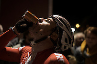 Julien Taramarcaz (SUI/ERA-Murprotec) post-race<br /> <br /> Superprestige Diegem 2015