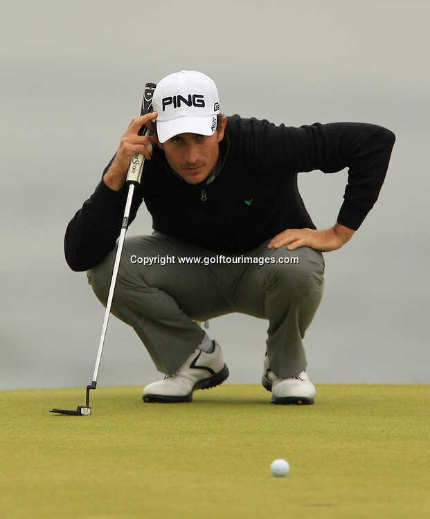 Alejandro Canizarez during the second round of the 2012 Aberdeen Asset Management Scottish Open being played over the links at Castle Stuart, Inverness, Scotland from 12th to 14th July 2012:  Stuart Adams www.golftourimages.com:13th July 2012