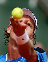 4-6-06,France, Paris, Tennis , Roland Garros, Tomas Berdych
