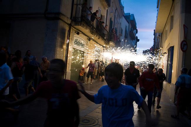 Vilafranca del Pnedes, Barcelona, Catalonia, childrens day,