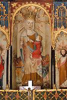 Altar in der Kirche (13./14. Jh.) in Lärbro auf der Insel Gotland, Schweden, Europa<br /> Altar in Church (13./14.c.) in Lärbro, Isle of Gotland Sweden
