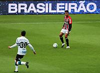 4th October 2020; Couto Pereira Stadium, Curitiba, Parana, Brazil; Brazilian Series A, Coritiba versus Sao Paulo; Diego Costa of Sao Paulo