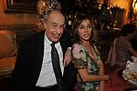 """CLAUDIO STRINATI CON VALERIA GOLINO<br /> PRESENTAZIONE LIBRO """" I ROCCALTA"""" DI EDVIGE SPAGNA<br /> PALAZZO TAVERNA ROMA 2008"""