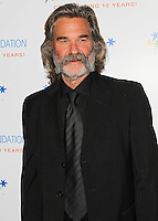 BEVERLY HILLS, CA, USA - NOVEMBER 21: Kurt Russell arrives at Goldie Hawn's Inaugural 'Love In For Kids' Benefiting The Hawn Foundation's MindUp Program held at Ron Burkle's Green Acres Estate on November 21, 2014 in Beverly Hills, California, United States. (Photo by Celebrity Monitor)