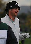 4 October 2008: Jeff Overton gives a smile during the third round at the Turning Stone Golf Championship in Verona, New York.