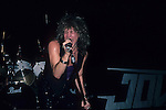 BON JOVI in 1985 at Madison Square Garden.
