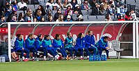 CARSON, CA - FEBRUARY 9: USWNT bench during a game between Canada and USWNT at Dignity Health Sports Park on February 9, 2020 in Carson, California.