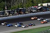 #95: Matt DiBenedetto, Leavine Family Racing, Toyota Camry Toyota Express Maintenance, #17: Ricky Stenhouse Jr., Roush Fenway Racing, Ford Mustang Fastenal and #6: Ryan Newman, Roush Fenway Racing, Ford Mustang Wyndham Rewards