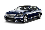 2016 Lexus LS L 4 Door Sedan 2WD Angular Front stock photos of front three quarter view
