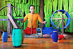 """A worker uses traditional methods as she rolls brightly coloured thread through a spinning wheel at Inle Lake in Myanmar. <br /> <br /> Photographer Sabina Atker, from Dhaka in Bangladesh said """"These workers are weaving traditional hand made thread made from lotus stem. This is their family business and it's their livelihood."""" <br /> <br /> """"The beautiful bright colours are what drew me to capture this picture."""" <br /> <br /> Please byline: Sabina Akter /Solent News<br /> <br /> © Sabina Akter /Solent News & Photo Agency<br /> UK +44 (0) 2380 458800"""