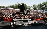 15th annual Vans Warped Tour.Monmouth Park Racetrack.Oceanport, NJ.On Sunday July 19,2009.. ANTI-FLAG..MARK R. SULLIVAN/CHIEF PHOTOGRAPHER