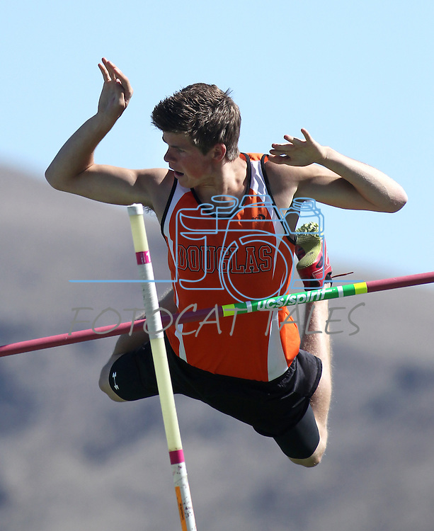 Images from the NIAA regional track competition at Damonte High School, in Reno, Nev. on Saturday, May 12, 2012. .Photo by Cathleen Allison