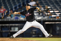 Tampa Yankees pitcher Andrew Bailey (41) delivers a pitch during a game against the Daytona Tortugas on April 24, 2015 at George M. Steinbrenner Field in Tampa, Florida.  Tampa defeated Daytona 12-7.  (Mike Janes/Four Seam Images)