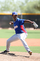 Carlos Melo - Texas Rangers - 2010 Instructional League.Photo by:  Bill Mitchell/Four Seam Images..