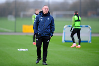 Steve Cooper Head Coach of Swansea City in action during the Swansea City Training at The Fairwood Training Ground in Swansea, Wales, UK.  Wednesday 08 January 2020