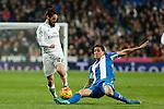 Real Madrid´s Isco during 2015/16 La Liga match between Real Madrid and Espanyol at Santiago Bernabeu stadium in Madrid, Spain. January 31, 2016. (ALTERPHOTOS/Victor Blanco)