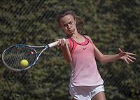 Hilversum, Netherlands, August 10, 2016, National Junior Championships, NJK, Paula van Poelgeest (NED)<br /> Photo: Tennisimages/Henk Koster
