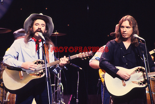 """Bellamy Brothers 1981 on """"Midnight Special"""".© Chris Walter."""