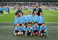 Pictured: Club ambassador Lee Trundle. Saturday 23 August 2014<br /> Re: Premier League, Swansea City FC v Burnley at the Liberty Stadium, south Wales