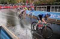 Gianmarco Garofoli (ITA)<br /> <br /> Junior Men road race<br /> from Richmond to Harrogate (148km)<br /> 2019 Road World Championships Yorkshire (GBR)<br /> <br /> ©kramon
