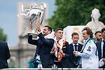 Real Madrid Nacho Fernandez during the celebration of the Thirteen Champions League at Cibeles Fountain in Madrid, Spain. May 27, 2018. (ALTERPHOTOS/Borja B.Hojas)