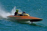 "Hal LeDuc, F-222 ""Opechee"" (1965 Hallett 266 class hydroplane)"
