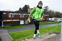Freddie Woodman of Swansea City during the Swansea City Training at The Fairwood Training Ground in Swansea, Wales, UK.  Wednesday 08 January 2020