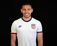 Hassani Dotson during a portrait studio session for the U23 Olympic Qualifying team 2021.
