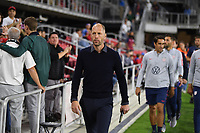 WASHINGTON, D.C. - OCTOBER 11: Manager Gregg Berhalter of the United States during their Nations League game versus Cuba at Audi Field, on October 11, 2019 in Washington D.C.