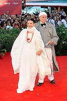 Carla FRACCI and Beppe MENEGATTI.Venezia / Venice 1/9/2010 67ma Mostra del Cinema.Red Carpet Serata Inaugurale.Foto Stefano Micozzi/Insidefoto