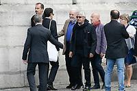 Michel Boujenah - ObsËques de MIREILLE DARC en l'Èglise Saint-Sulpice - 01/09/2017 - Paris, France