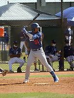 Jose Ramos - Los Angeles Dodgers 2021 spring training (Bill Mitchell)