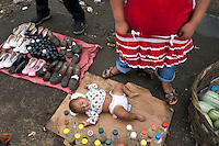 Trading day. Masaya market. Nicaragua