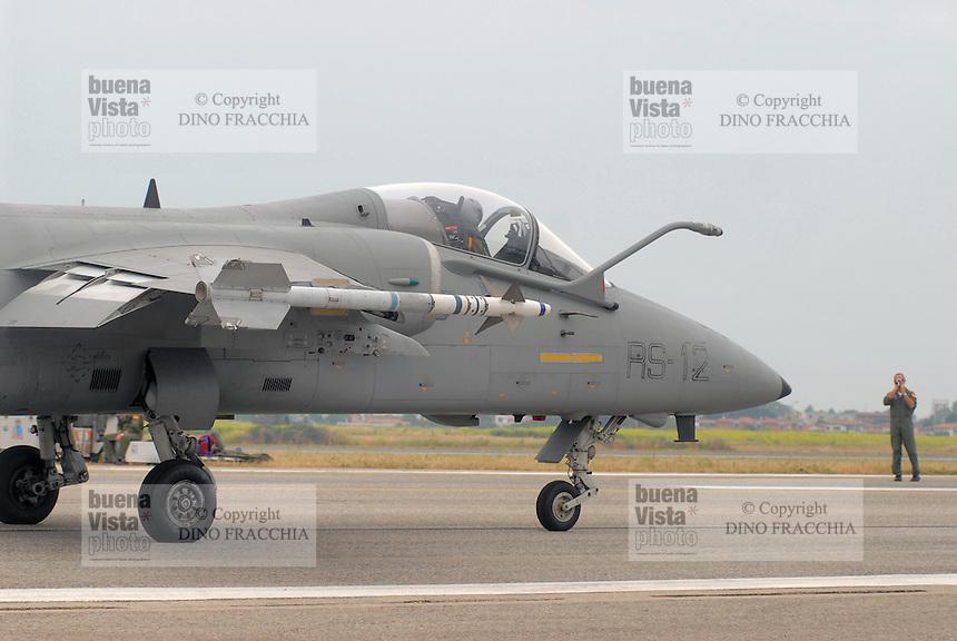 - Italian Air Force, strike aircraft AMX of the Experimental Flight Unit of Pratica di Mare (Rome)....- Aeronautica Militare Italia, aereo da attacco AMX del Reparto Sperimentale Volo di Pratica di Mare (Roma)......