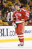 Alex Chiasson (BU - 9) - The Boston College Eagles defeated the Boston University Terriers 3-2 (OT) to win the 2012 Beanpot championship on Monday, February 13, 2012, at TD Garden in Boston, Massachusetts.