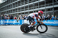 Fernando Gaviria (COL/UAE-Emirates)<br /> <br /> 104th Giro d'Italia 2021 (2.UWT)<br /> Stage 1 (ITT) from Turin to Turin (8.6 km)<br /> <br /> ©kramon